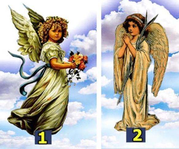 На досуге пройдем забавный тест: выберите ангелочка и узнайте, что ждет вас завтра