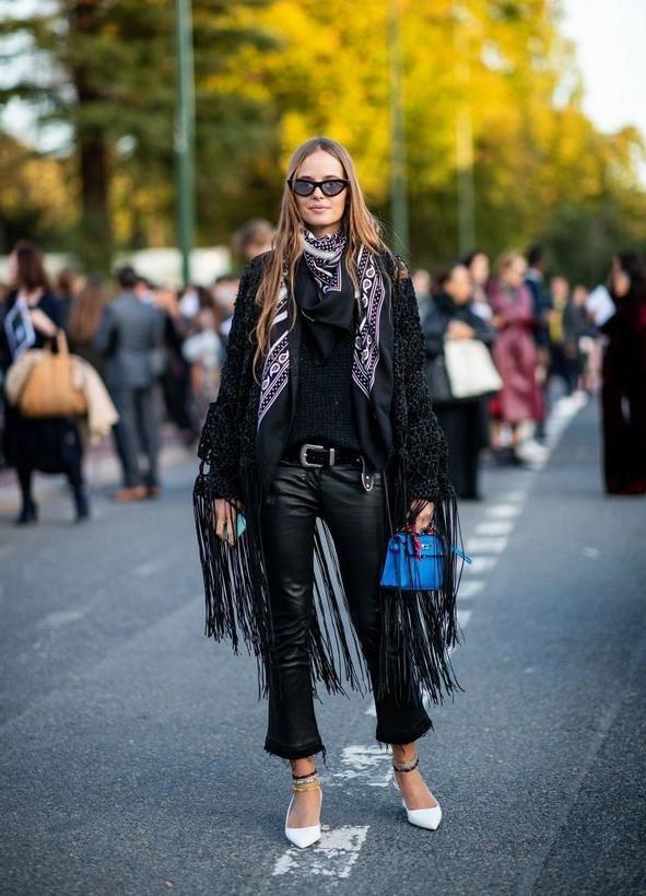 Must have сезона-2019/2020 - кожаные штаны: актуальные модели для модниц
