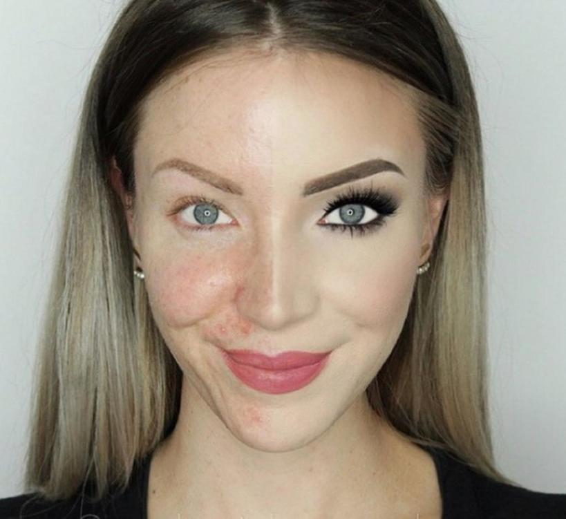 Макияж   великая сила: фото женщин, которые показывают, насколько макияж способен изменить наше лицо