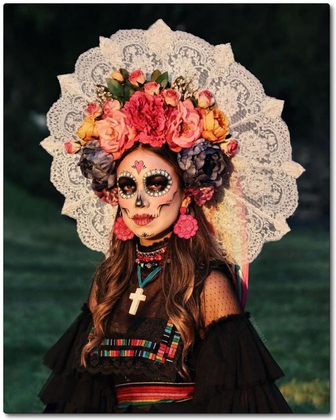 Прошел традиционный фестиваль мексиканской культуры Día de los Muertos: лучшие образы 2019 года