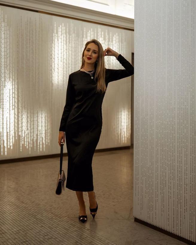 Черное платье, белая блуза, брючный костюм: основные тренды 2020 года