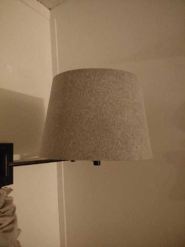 Лампа с новым декором украсила интерьер в спальне, делюсь идеей