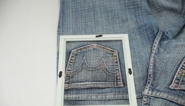 Кармашек для нужных вещиц: как сделать удобный органайзер из старых джинсов