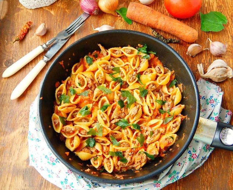 Спагетти рецепты с фото простые