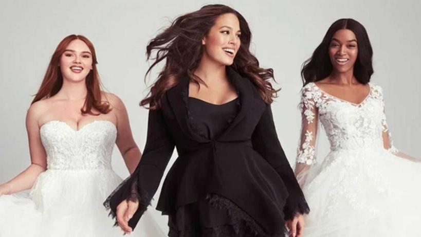 Известная plus-size модель Эшли Грэм разрабатывает свадебные платья больших размеров с Pronovias