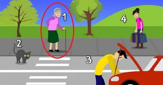 Кому из прохожих на улице вы помогли бы в первую очередь? Психологический тест