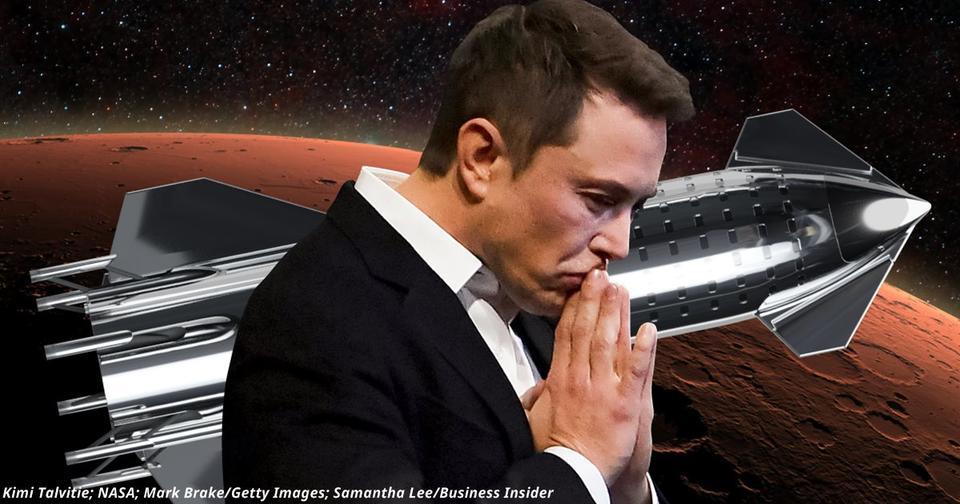 Илон Маск отправит миллион людей на Марс к 2050 году