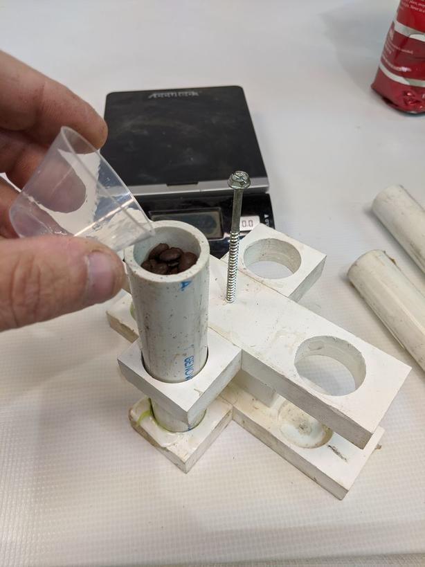 Кофейные зерна: делаем красивый корпус для ручки своими руками