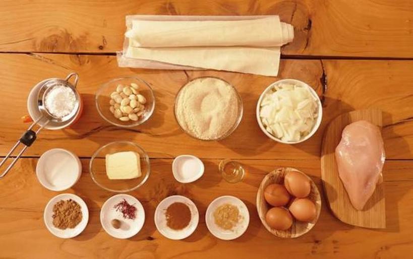 Марокканский курник с миндалем: привезла рецепт из путешествия и балую семью вкусным пирогом