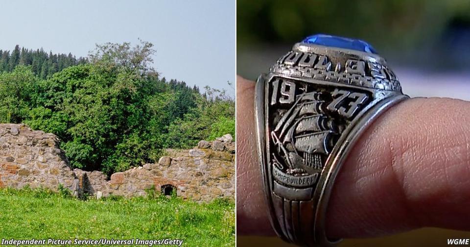 Американка уронила кольцо в раковину — и спустя 47 лет его нашли в лесу Финляндии