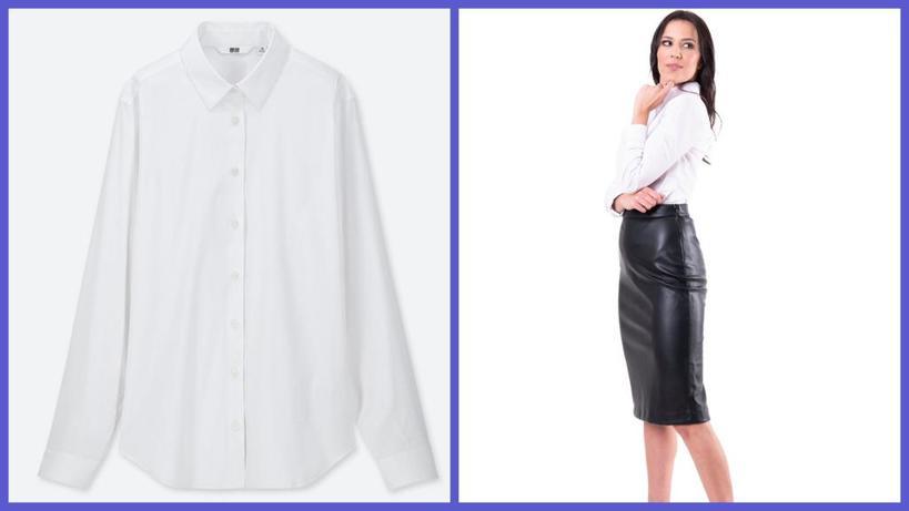 Модельеры показали, как в 2020 году носят простую белую рубашку