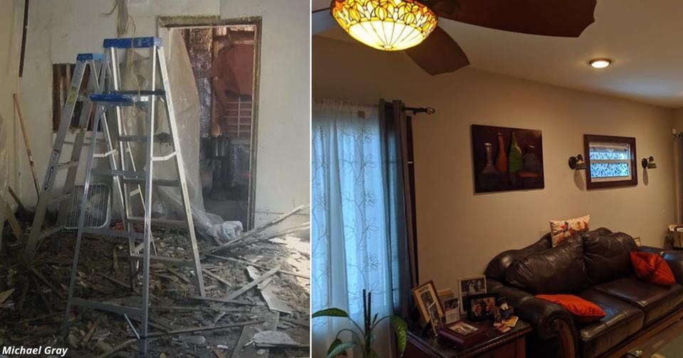 Бездомный из Детройта купил заброшенный дом за 00 — и 10 лет ремонтировал его для жены