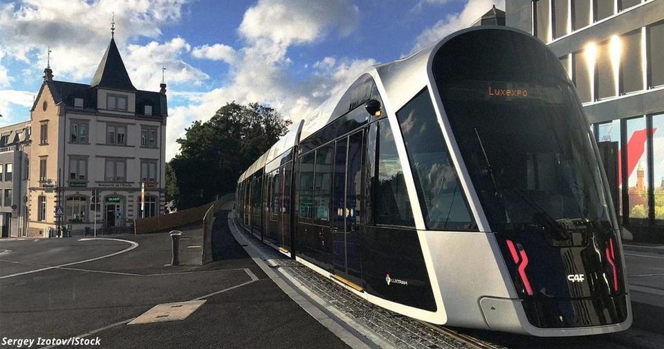 В Люксембурге весь общественный транспорт теперь бесплатный
