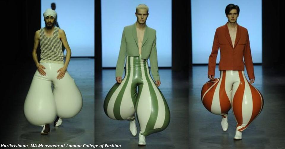 Новые латексные брюки от модного дизайнера свели с ума интернет