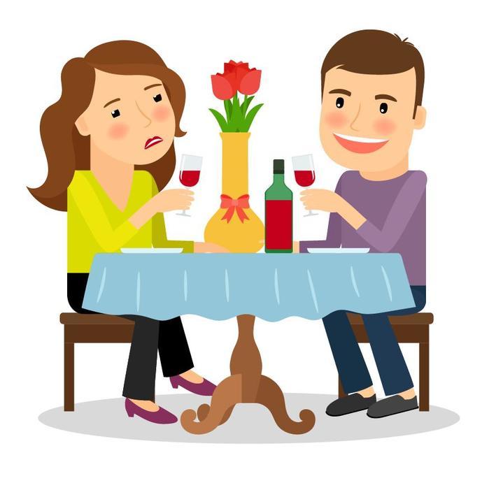 Супруги ужинали в ресторане, как вдруг подошла девушка и поцеловала мужа: жена потребовала объяснений