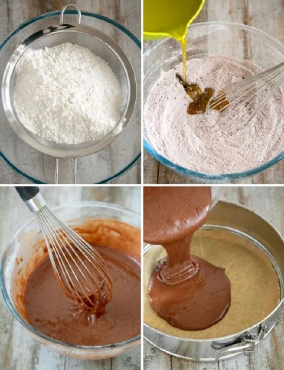 Шоколадный пирог без яиц, масла и молока: идеальный десерт в период самоизоляции от Андреа Соранидис