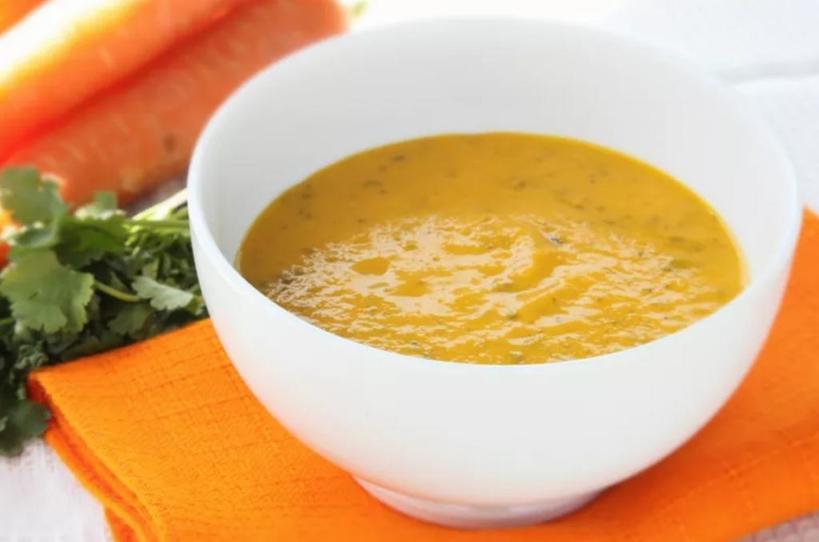 Морковно имбирный суп – настоящая находка, а с миндалем еще вкуснее и полезнее