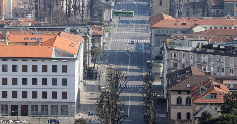 Я сижу на карантине в Северной Италии. Вот как это выглядит