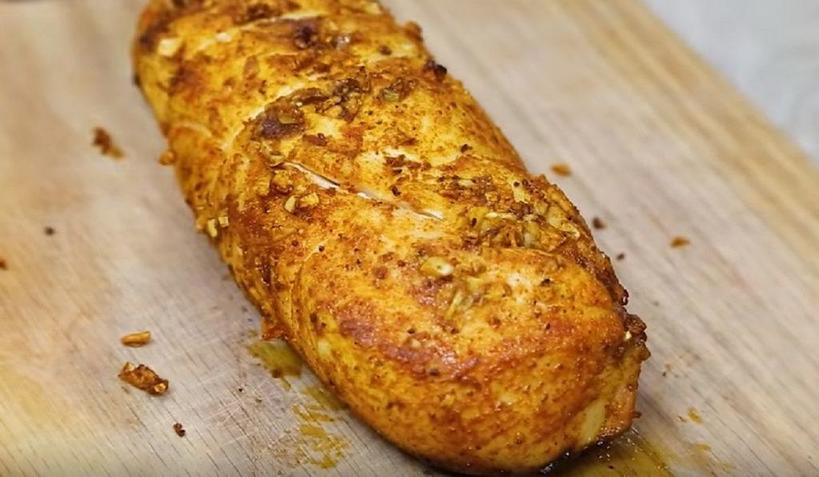 Делаю молочный куриный рулет из чистого филе (обходится дешево и заменяет вредную колбасу): самый легкий рецепт