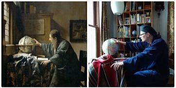 35 раз, когда кто-то дома воссоздал известные картины — из того, что было
