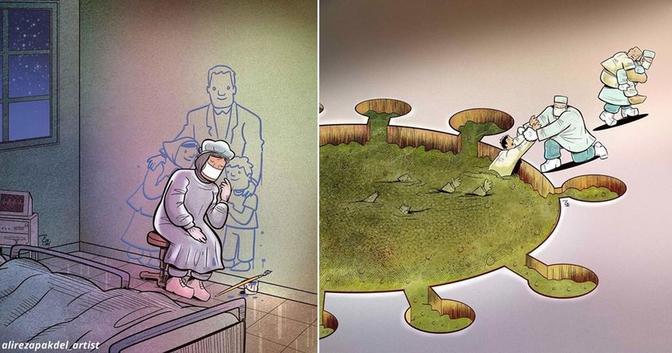 29 мощных картинок о том, как важен сейчас труд докторов