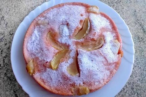 Готовлю пирог из фруктов, которые есть под рукой, и киселя: на вкус как торт   сочный и нежный