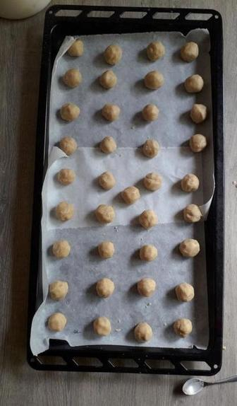 Печенье на основе тахини и сливочного масла по рецепту моей подруги: поэтапное приготовление с фото