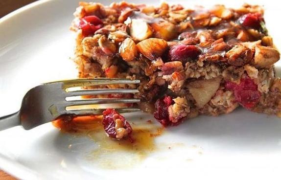 Необыкновенный рецепт яблочно черничного хрустящего десерта! Готовится за 15 минут