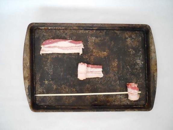 Канапе из джема и бекона в кляре: рецепт оригинальной закуски