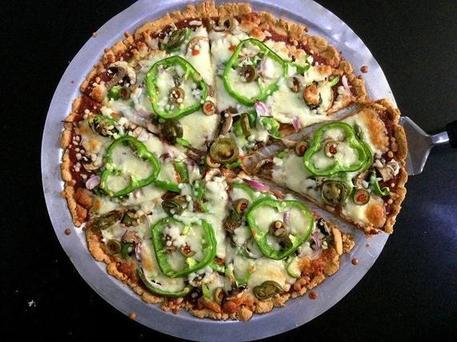 Пицца, которую можно есть на диете: рецепт многозернового итальянского блюда с овощами