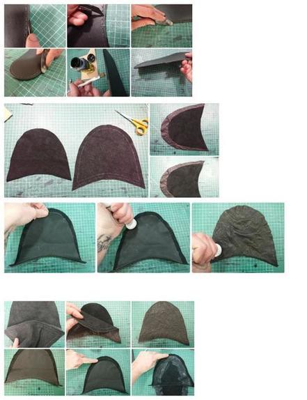 Хотите дома ходить в кожаных тапках? Их можно сделать своими руками: фото по шагам с описанием