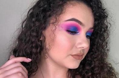 Моя техника выполнения макияжа глаз в стиле