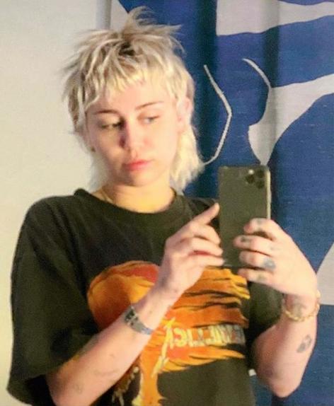 Прическа Майли Сайрус пришлась по душе поклонникам: у певицы новый образ