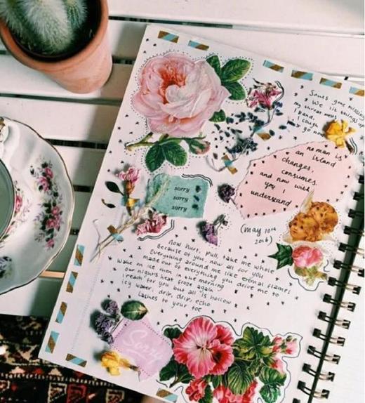 3D открытки, бумажные бабочки и цветочные аппликации: 7 оригинальных идей для тех, кто ведет дневник