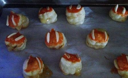 Тыквенные слойки с сыром бри: аромат лакомства стоит на весь дом