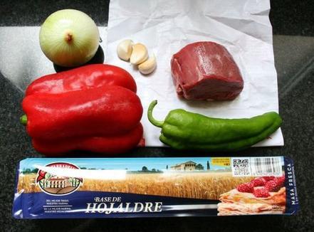 В говядине Веллингтон я решила заменить ингредиенты. Картошка добавила свою изюминку