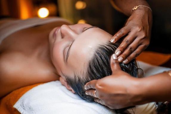 Чтобы не было седины и волосы не выпадали, делаю секретный японский 5-минутный массаж для женщин после сорока