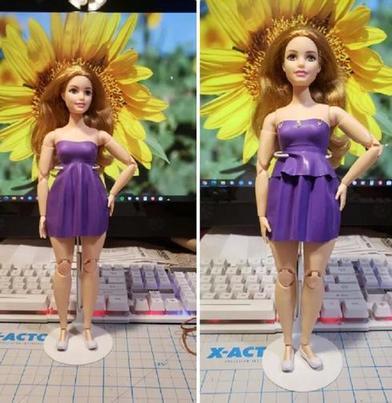 Увидели, как соседская девочка сообразила платье для куклы из воздушного шарика: действительно, все настолько просто, что справится и ребенок