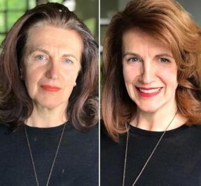 Стилист со стажем на примере продемонстрировала, как хорошая стрижка изменяет внешность к лучшему (фото)