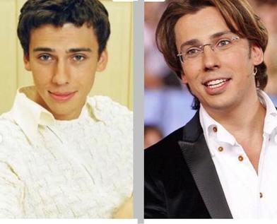 Как ведущие, которых многие считают самыми красивыми на отечественном телевидении, выглядели в юности (фото)