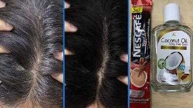 Моя мама окрашивает седые волосы кофе: рецепт красоты из 3 ингредиентов