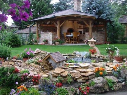 Словно в сказке! Люди сами проектируют свои участки и создают гармоничные, уютные дворики: фотоподборка