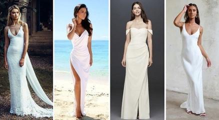 Платья для беззаботных невест: пляжные, богемные, винтажные и другие