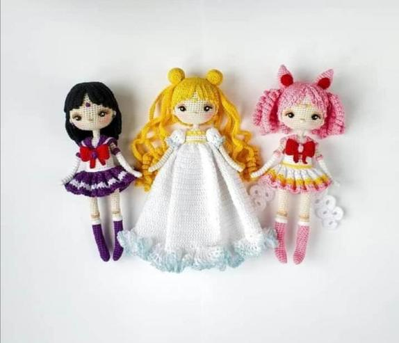 Россиянка покоряет подписчиков своей коллекцией кукол  Сейлор Мун : люди не могут поверить, что она их связала