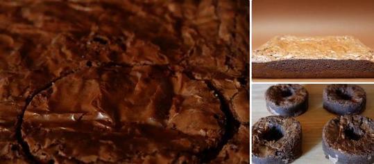 Брауни, бисквит, расплавленный зефир и много шоколада: готовим вкусное пирожное