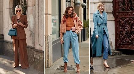 Лучшие коллекции с осенне-зимних недель уличной моды 2020 года: яркие цвета и искусственная кожа