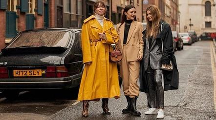Лучшие коллекции с осенне зимних недель уличной моды 2020 года: яркие цвета и искусственная кожа