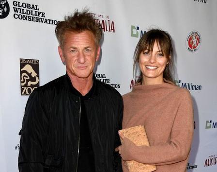 59 летний актер Шон Пенн тайно женился. Его супругой стала 28 летняя австралийская актриса Лейла Джордж
