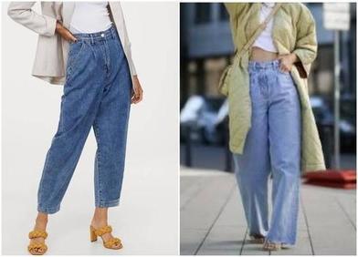Осенняя тенденция 90 х: зауженные, с эффектом потертости и другие лучшие варианты мешковатых джинсов (фото)