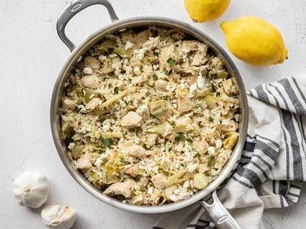 Куриная грудка с рисом и артишоками: рецепт вкусного осеннего завтрака и полезные советы по приготовлению